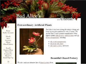 Bad Alices For Wholesale Artificial Silk Flowers Artificial Silk